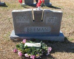 Dorothy <i>Branch</i> Beeman