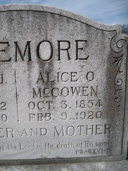 Alice O <i>McCowen</i> Bazemore
