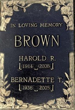 Harold R Brown