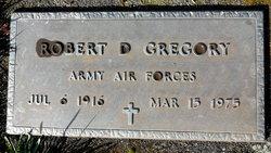 Robert D Gregory