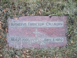 Katheryn Francelia <i>Wickliffe</i> Callaway