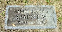 Nancy <i>Haynes</i> Bradshaw
