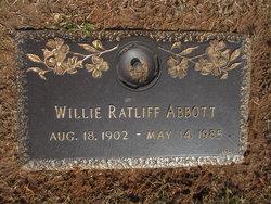 Willie M. <i>Ratcliff</i> Abbott