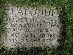 Mary Anne <i>O'Byrne</i> Lalonde