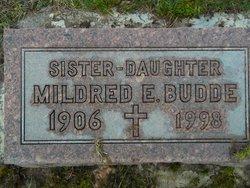Mildred E Budde