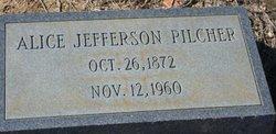 Alice <i>Jefferson</i> Pilcher