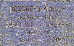 George Benedict Ackley