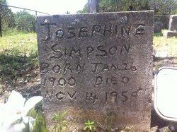 Josephine <i>Hutson</i> Simpson