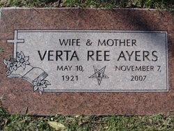 Verta Ree <i>Nivens</i> Ayers