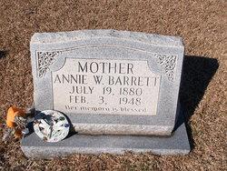 Susan Annie <i>Welch</i> Barrett