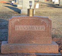 Minnie <i>Frevert</i> Hansmeyer
