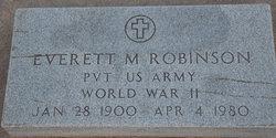 Everett M Robinson