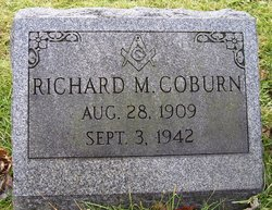 Richard M Coburn