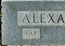 Fay <i>Collier</i> Alexander
