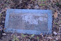 Erma Lee <i>Bohannan</i> Miller Orr