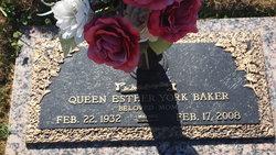 Queen Esther <i>York</i> Baker