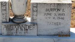 Burton I Alexander