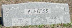 Glenn Wilson Burgess, Sr