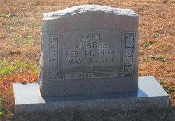 Marie McAbee