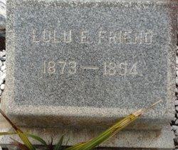Lulu E. Friend