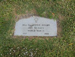Bill Clarence Adams