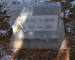 Cedric W Adams
