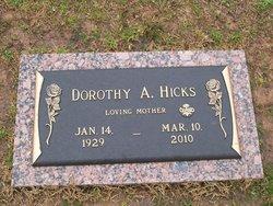 Dorothy A. Hicks