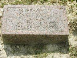 Janice C. <i>Sprowl</i> Canada