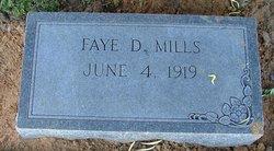 Faye D <i>Dennis</i> Mills