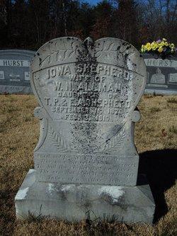 Iowa <i>Shepherd</i> Allman