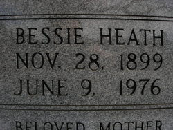 Bessie Heath <i>Reese</i> Cheek
