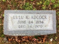 Lulu K Adcock