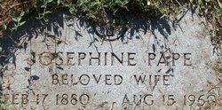 Josephine <i>Didier</i> Pape