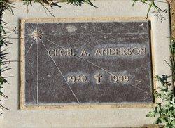 Cecil A. Anderson