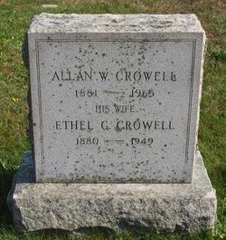 Ethel <i>Guptill</i> Crowell
