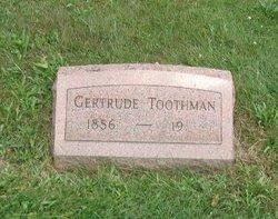 Gertrude <i>Davis</i> Toothman