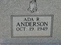 Ada R Anderson