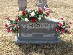 Rebecca M. <i>Wilburn</i> Bowden