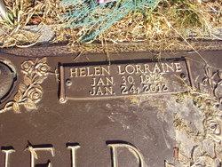 Helen Lorraine <i>West</i> Canfield