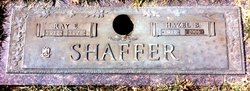 Hazel E <i>Bricker</i> Shaffer