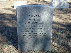 Susan Jane <i>Chronister</i> Bowden