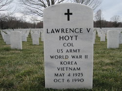 Lawrence V Hoyt