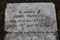 John Watson, Sr