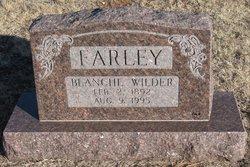 Blanch <i>Wilder</i> Farley
