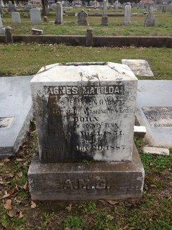 Agnes Matilda <i>Bond</i> Garrett