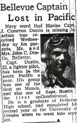 Capt J Cameron Dustin