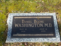 Dr Daniel Boone Washington
