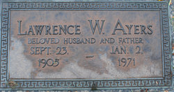 Lawrence W Ayers