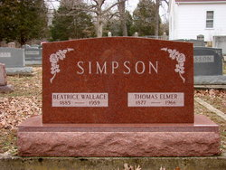 Beatrice <i>Wallace</i> Simpson