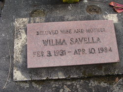 Wilma <i>Smith</i> Glaser Savella